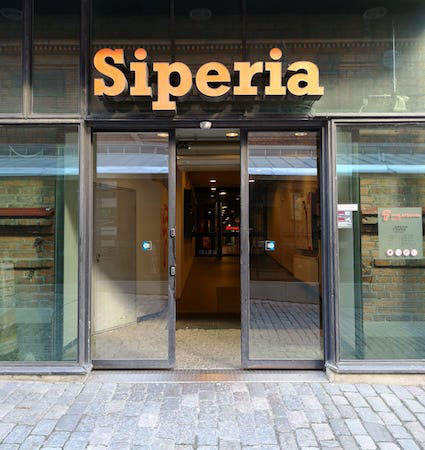 From Itäinenkatu through the Siperia doors straight to Media 54.